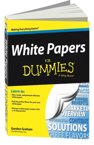 Writing white papers for dummies